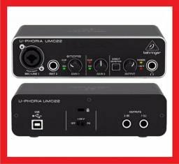 Interface Behringer UMC22 (NOVA)
