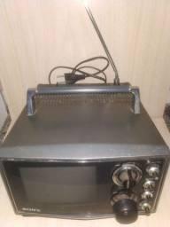 Mini tv vintage sony kv6020 raríssima
