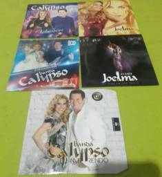 Cds promocional Banda Calypso e Joelma