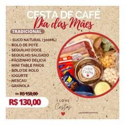 CESTA DE CAFÉ DA MANHÃ - PROMOÇÃO