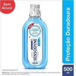 Sensodyne Cool Mint Enxaguatório Bucal 500ml SEM ÁLCOOL 100% Original Lacrado!