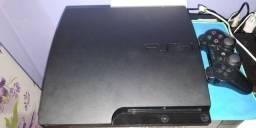 PS3 160 gb e um controle com defeitos