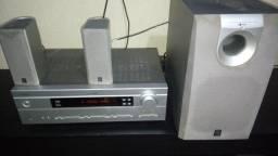 receiver yamaha,troco tv smart.