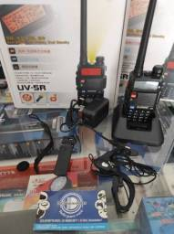 1 Rádio Baonfeg uv-5R + 1 Fone + 1 Carregador - Dell Variedades.