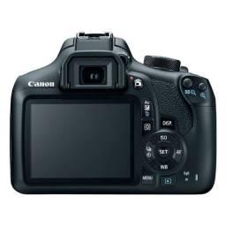 Câmera Canon EOS T6 com Lente 18-55mm