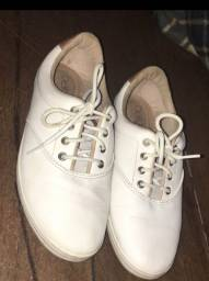 Sapato branco Beira rio conforto