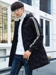 casaco luxo sobretodo masculino novo p m g gg