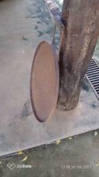 Caçarola de disco arado.