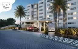 Apartamento 56,10m² 3 quartos sendo 1 suíte próx ao shopping Ponta Negra