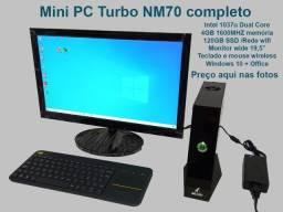 Mini PC turbo NM70 completo