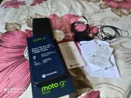 Moto G9 plus em ótimo estado