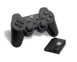 Controle sem fio para PC, PS2 e PS3