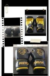 Kit de box - luva, bandagem, protetor bucal.