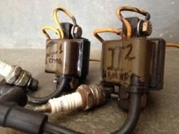 Bobina Ignição Motor Popa 2 Cilindros Jonshon 25 Hp 1985