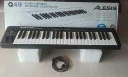 Controlador Alesis Q49 49-Key USB MIDI Keyboard