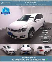 Volkswagen Golf 1.4 tsi branco comfortline gasolina 2015 R$ 44.300 45000km - 2015