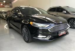 Ford Fusion Titanium Preto Gasolina 2017 - 2017