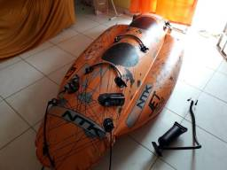 Banana boat 2 pessoas jet bob + corda + bomba inflar