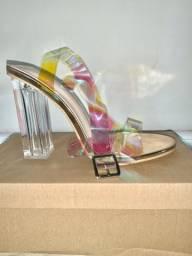 Sandália 36 Multicolor