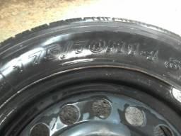 4 pneus 175 70 14 com roda