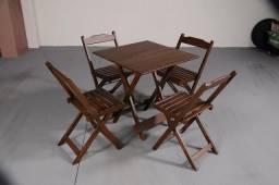 Seu bar de cara nova Mesas e Cadeiras Dobráveis Conjunto Dobrável