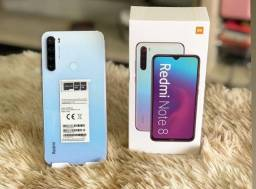 Xiaomi Note 8 64GB Azul Black e Branco Lacrado