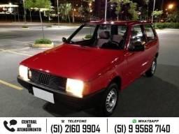 Fiat Uno mille 1.0 brio vermelho - 1991