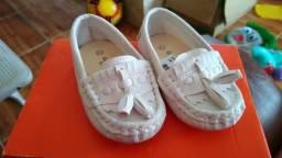 Sapato mocassim bebê