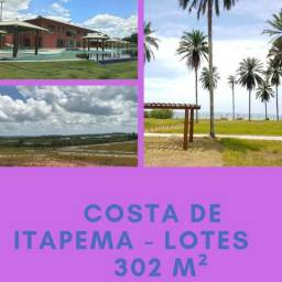 Lotes condomínio Costa de Itapema, praia exclusiva - a partir 60 mil
