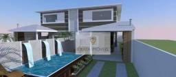 Lançamento! Casa duplex 4 quartos com piscina/ quintal e churrasqueira, Ouro Verde/ Rio da