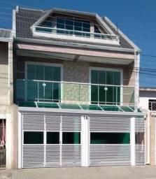 Sobrado com 3 dormitórios à venda, 300 m² por R$ 355.000 - Cidade Industrial - Curitiba/PR