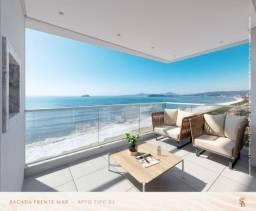 Apartamento 3 suítes Vista definitiva para o mar com lateral Norte