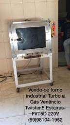 Forno Industrial Turbo a Gás