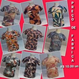 Camisa preço de fábrica