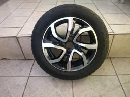 Rodas originais do Air Cross com pneu