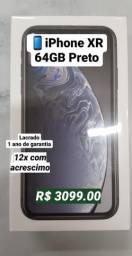 IPhone XR 64GB Lacrado(2900 hj)