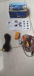 Kit câmera de ré e kit de estacioname