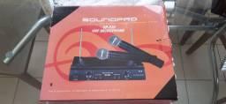 Microfone Sem Fio Sound Pro  SP520