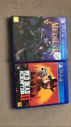 Red Dead Redemption 2 e Medievil PS4