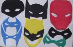 MÁSCARAS da FAMILIA DO BATMAN para o Dia das Crianças