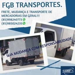 FRETE E TRANSPORTE PARA MUDANÇA.