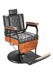 Poltrona Cadeira Barbeiro Hidráulica Salão Cabeleireiro Marri