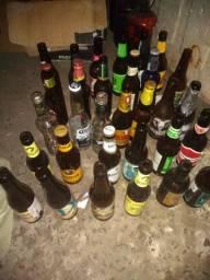 Coleção 36 garrafas de cerveja para decoração de casa ou festa