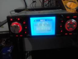 Radio h-buster com usb radio e dvd bom estado