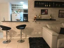 Lindo Apartamento Mobiliado Dois Quartos Suíte Closet Cozinha Planejada Lazer e Segurança