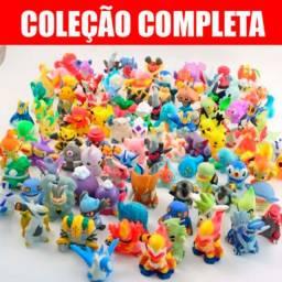 Kit De 144 Bonecos Miniatura Lote Pokémon Com Pikachu Incluso Coleção Completa !