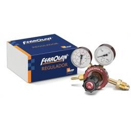 Regulador de Pressão Argônio - 2 Manômetros - Ferrolan