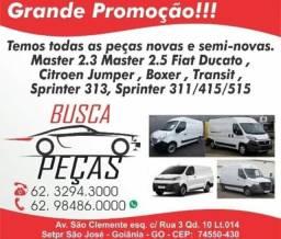 Peças para vans Jump, Master, Ducato, Boxer, Transit, Sprinter