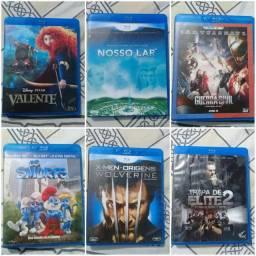 Filmes blu-ray vendo e troco