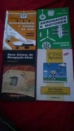 Livros de estudos para piloto privado.